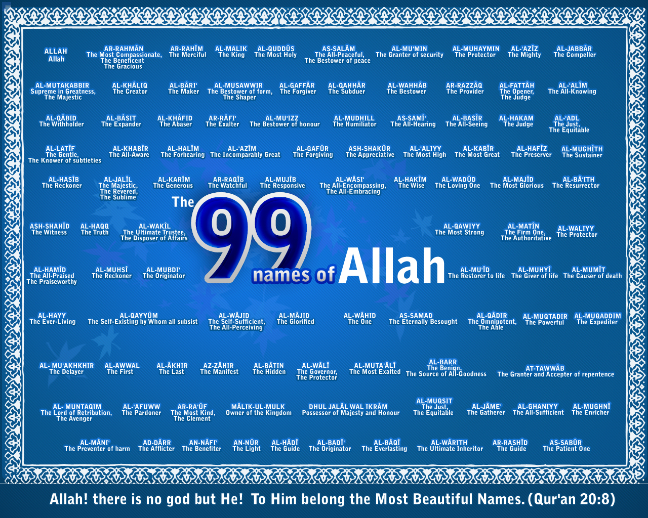 Category Archives: 99 Names of Allah (swt)