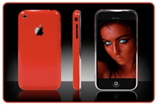 Apple iphone 3gs Red