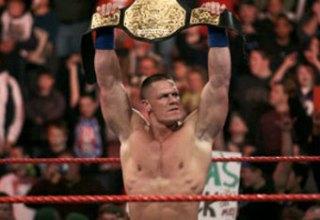 john cena world heavy weight champion