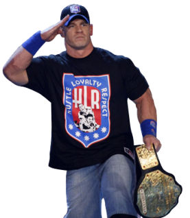 john cena world heavy weight champion