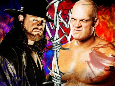 Kane and Undertaker