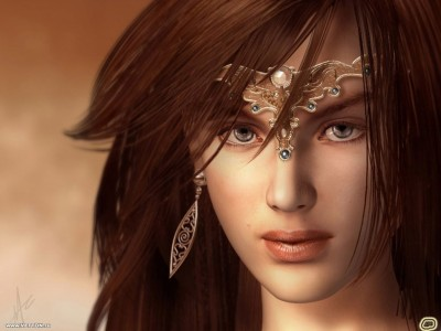 3D Beautiful Girls Wallpapers