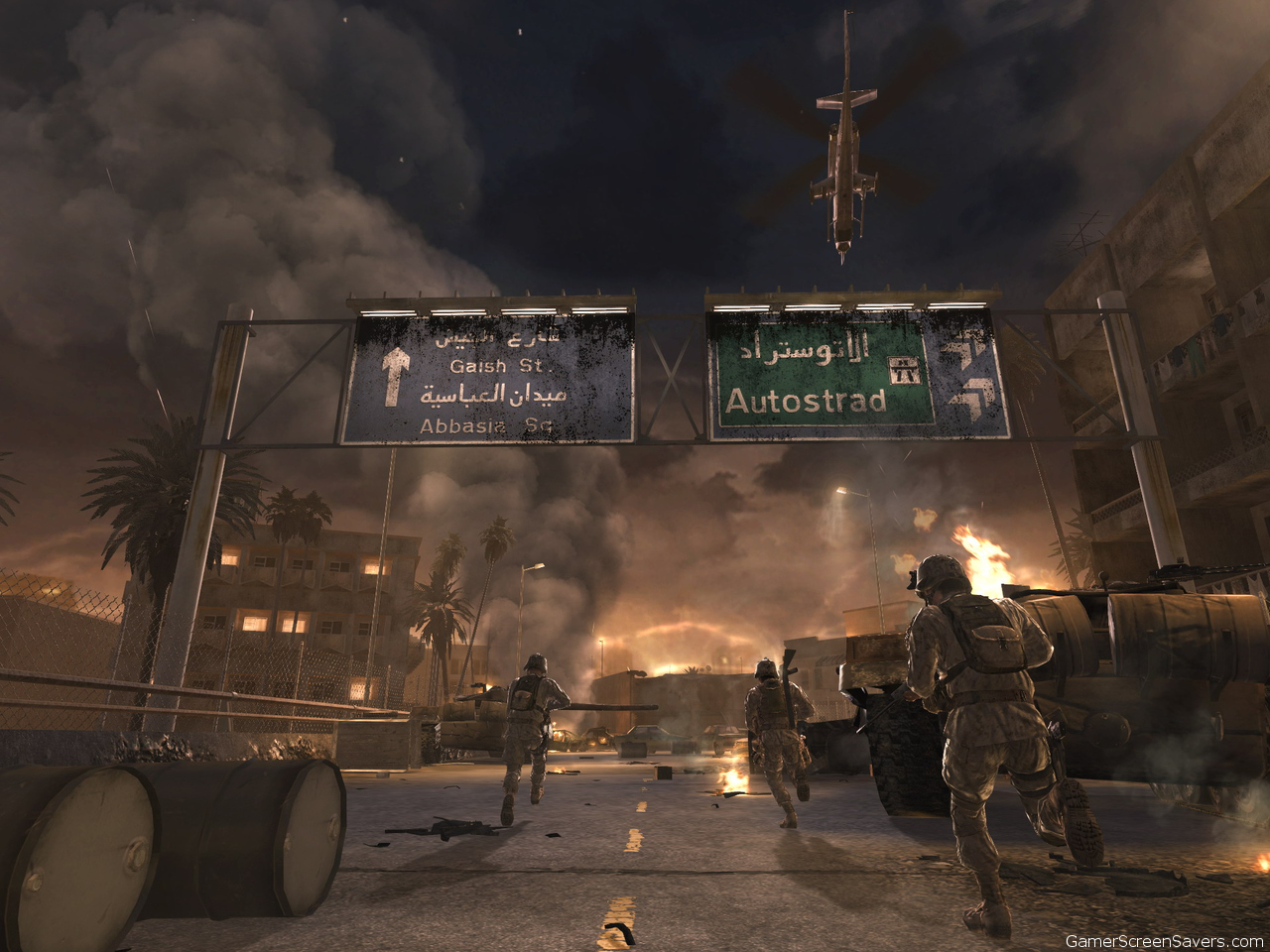 call of duty 4 gameplay beautiful cool wallpapers