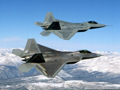 F-22 Raptor Military Jet Fighter Wallpaper