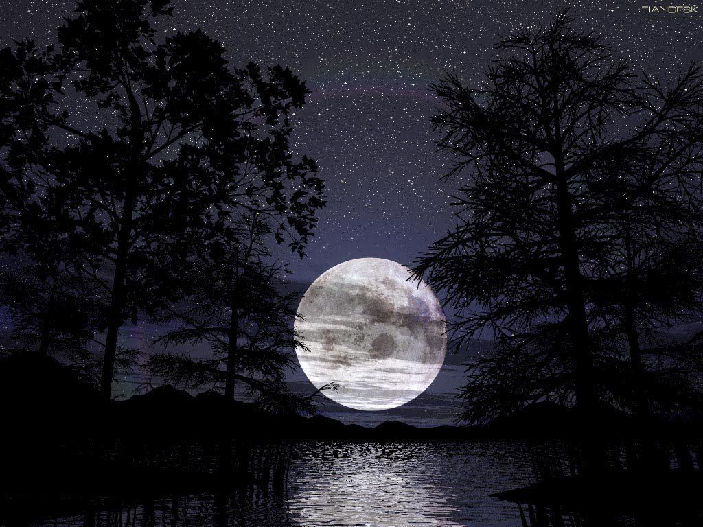 pretty moon wallpapers - photo #1