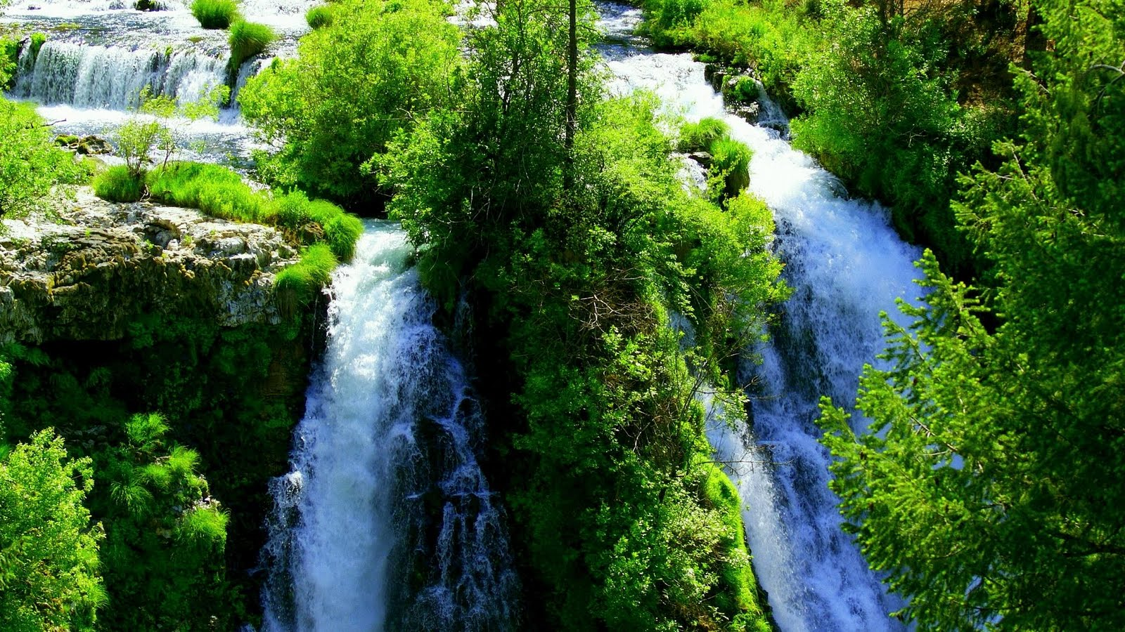 Landscape wallpapers amazing landscape pictures hd nature - Nature wallpaper of waterfall ...